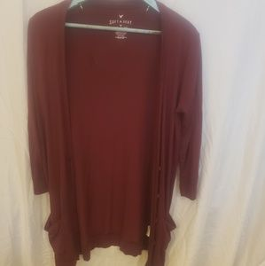 American Eagle soft and sexy T Cardigan